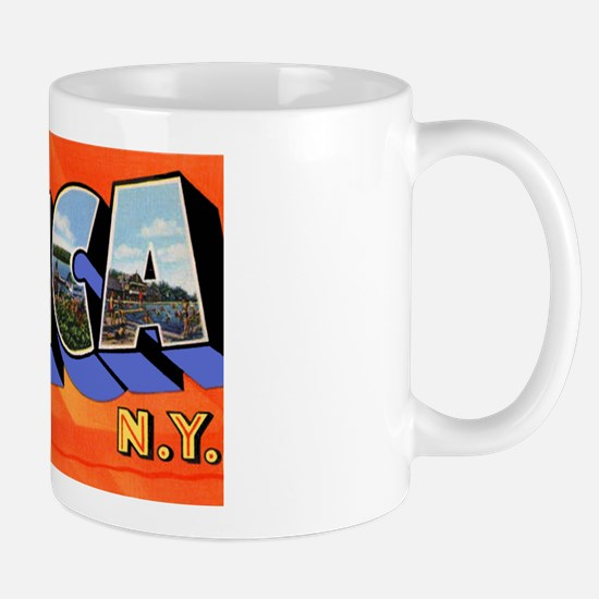 Utica New York Greetings Mug
