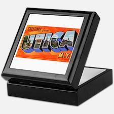 Utica New York Greetings Keepsake Box