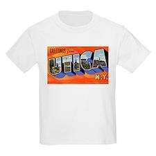 Utica New York Greetings Kids T-Shirt