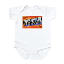 Utica New York Greetings Infant Bodysuit