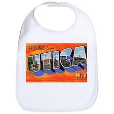 Utica New York Greetings Bib