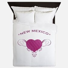 New Mexico State (Heart) Gifts Queen Duvet