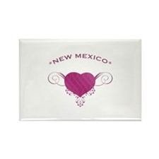 New Mexico State (Heart) Gifts Rectangle Magnet