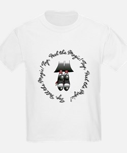 Toe Stand - Tap, Feel the Mag Kids T-Shirt