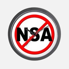 Anti / No NSA Wall Clock