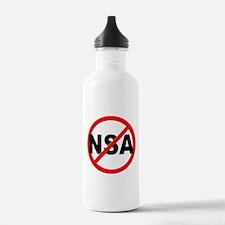 Anti / No NSA Water Bottle