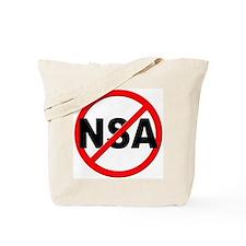 Anti / No NSA Tote Bag