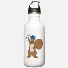 Squirrel Graduate Water Bottle