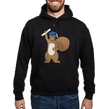 Squirrel Graduate Hoodie