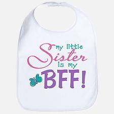 Little Sister BFF Bib
