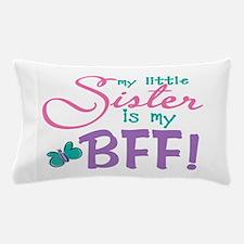 Little Sister BFF Butterfly Pillow Case