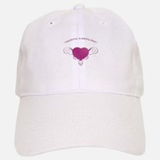 North Carolina State (Heart) Gifts Baseball Baseball Cap