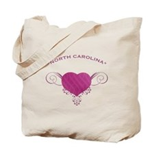 North Carolina State (Heart) Gifts Tote Bag
