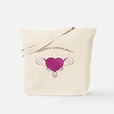 North Carolina State (Heart) Gifts Tote Bag