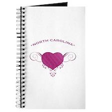 North Carolina State (Heart) Gifts Journal