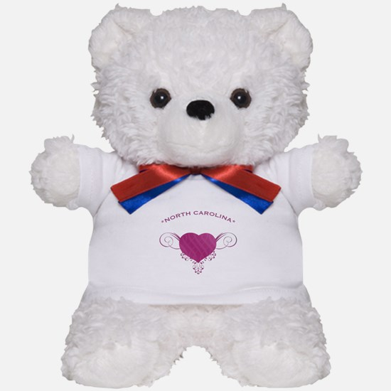 North Carolina State (Heart) Gifts Teddy Bear