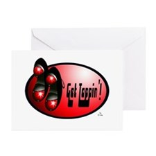 Sparkling Red - Get Tappin' Greeting Cards (Packag