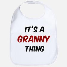 Granny thing Bib