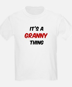 Granny thing Kids T-Shirt