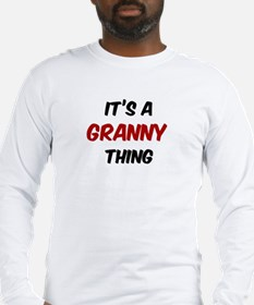 Granny thing Long Sleeve T-Shirt
