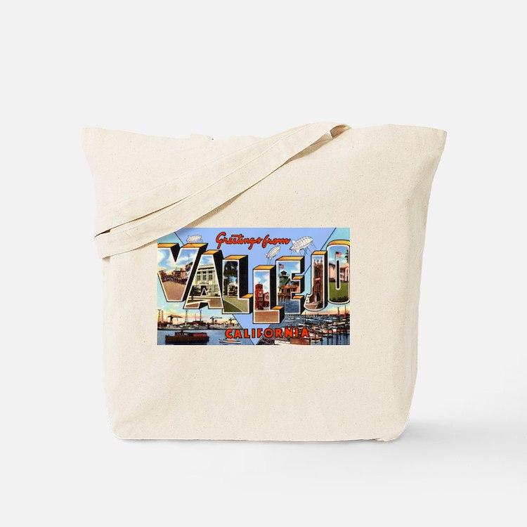 Vallejo California Greetings Tote Bag
