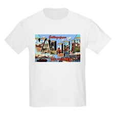 Vallejo California Greetings (Front) Kids T-Shirt