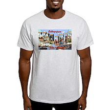 Vallejo California Greetings Ash Grey T-Shirt
