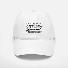 Funny 90th Birthday Cap
