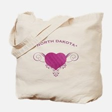 North Dakota State (Heart) Gifts Tote Bag