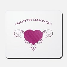 North Dakota State (Heart) Gifts Mousepad