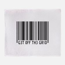 Get off the Grid | Throw Blanket