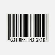 Get off the Grid | Rectangle Magnet