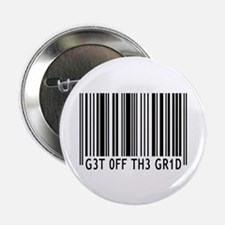 "Get off the Grid | 2.25"" Button"