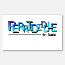 Perrididdle Rectangle Bumper Stickers