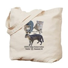 Small Wild Cats Tote Bag