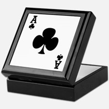 Ace of Clubs Keepsake Box