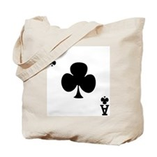 Ace of Clubs Tote Bag
