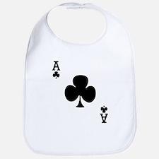 Ace of Clubs Bib