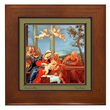 Francesco Albani Framed Tile