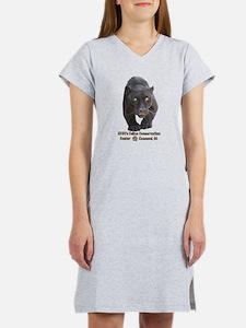 Black Jaguar Women's Nightshirt