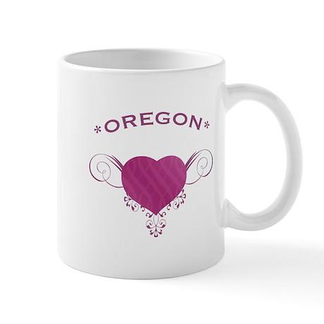 Oregon State (Heart) Gifts Mug
