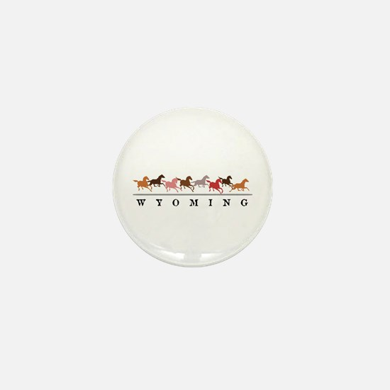 Wyoming horses Mini Button (100 pack)