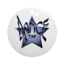 Dance Star - Tap Ornament (Round)