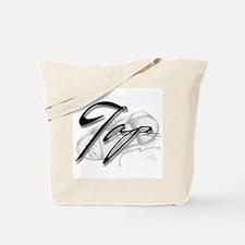 Black Tap on Shoe Tote Bag