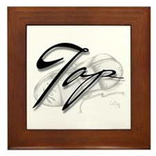 Black Tap on Shoe Framed Tile