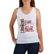 Not A Party Until Bacon Tank Top
