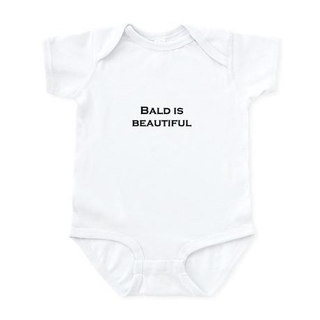 Bald is Beautiful Infant Bodysuit