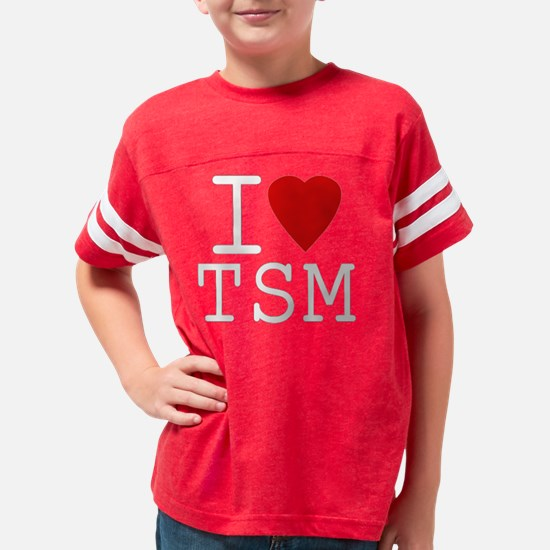 i love tsm ping Youth Football Shirt
