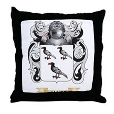 Jantz Coat of Arms (Family Crest) Throw Pillow