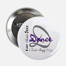 Ballet, Jazz, Tap Dance Button